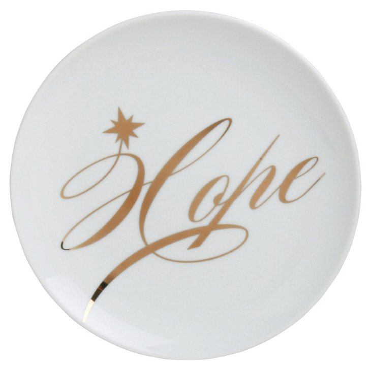 S/4 Appetizer Plates, Hope