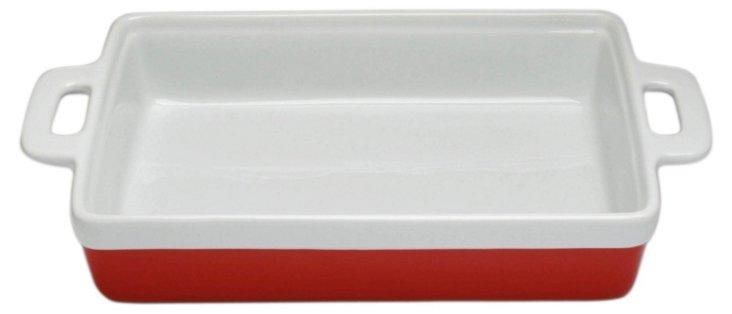 Rectangle Baker, Red