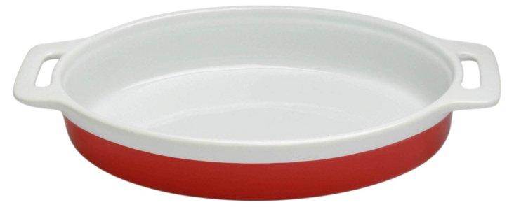 Oval Baker, Red