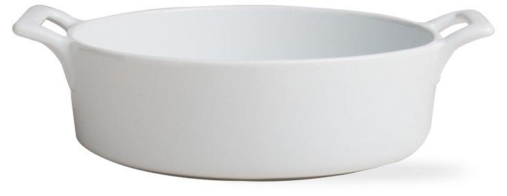 Round Porcelain Baker, Large