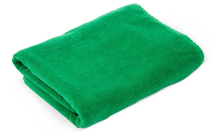 Fresco Bath Towel, Green