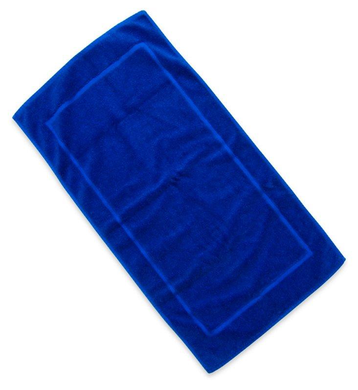 Fresco Bath Mat, Blue