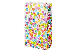S/10 Confetti Lolly Bags
