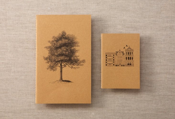Tree & Steve Notebook Set