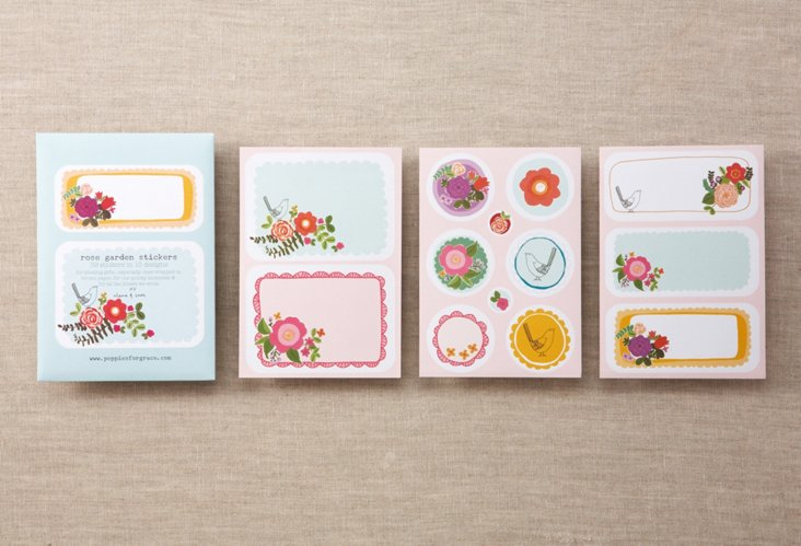 S/78 Rose Garden Stickers