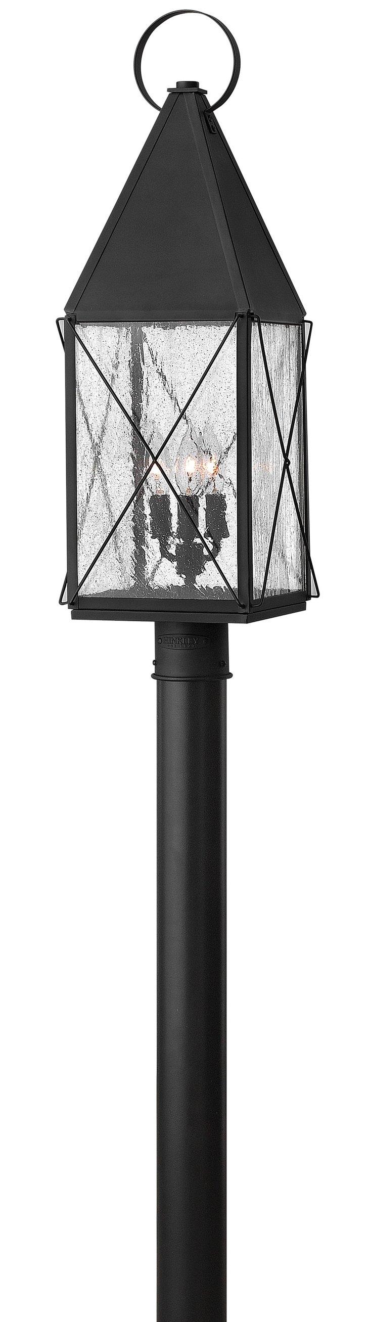 York Post Lantern, Black