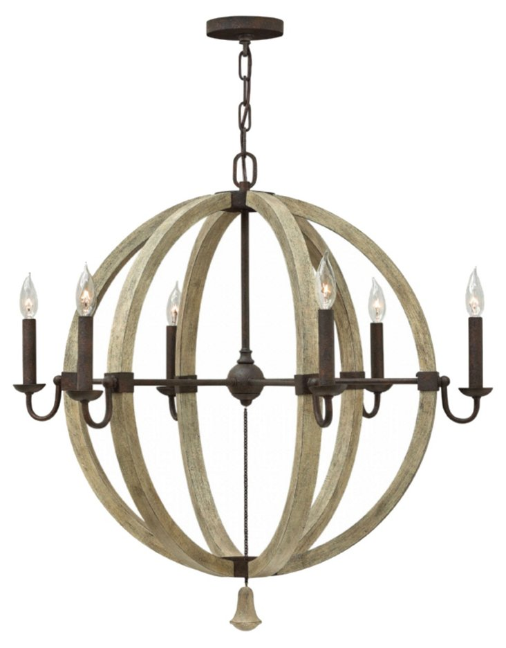 Middlefield 6-Light Chandelier, Large