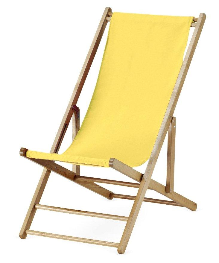Cabana Beach Chair, Yellow