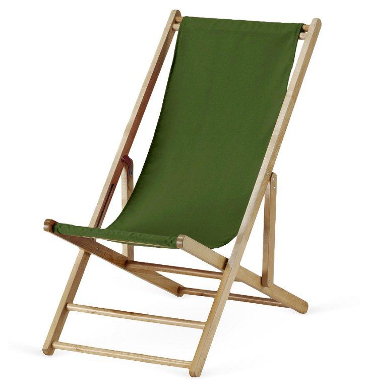 Cabana Deck Chair, Palm