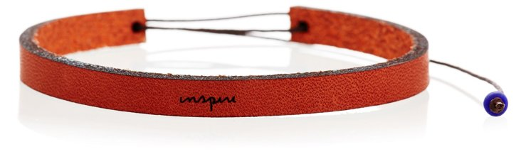 Inspire Adjustable Leather Bracelet