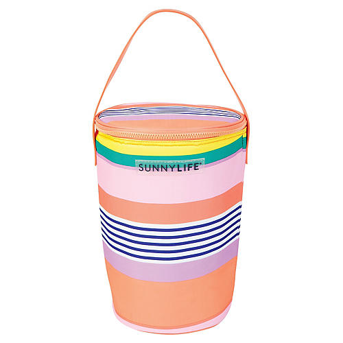 Havana Cooler Bag, Pink/Multi