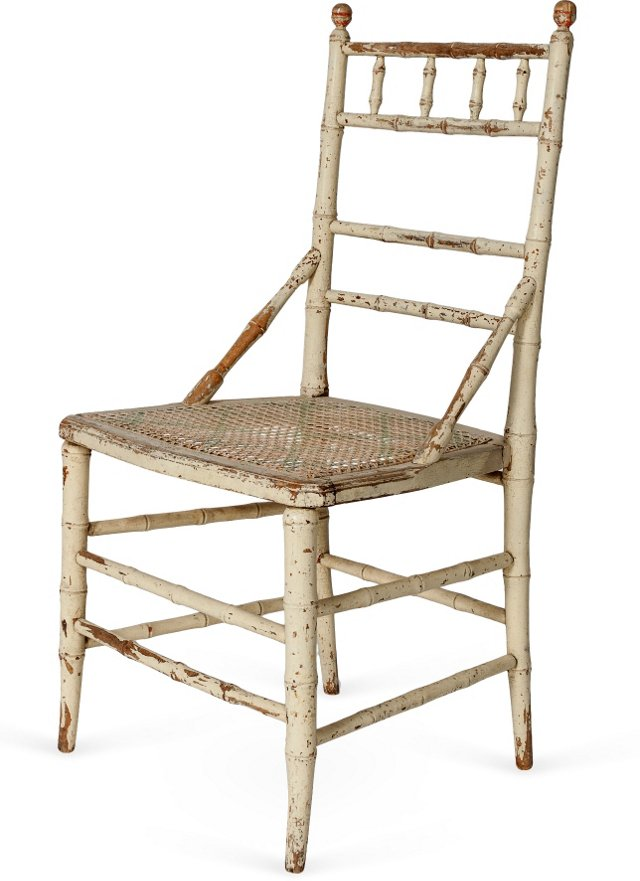 Vintage Bamboo-Style Chair
