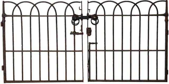 Old Church Iron Gates, Pair