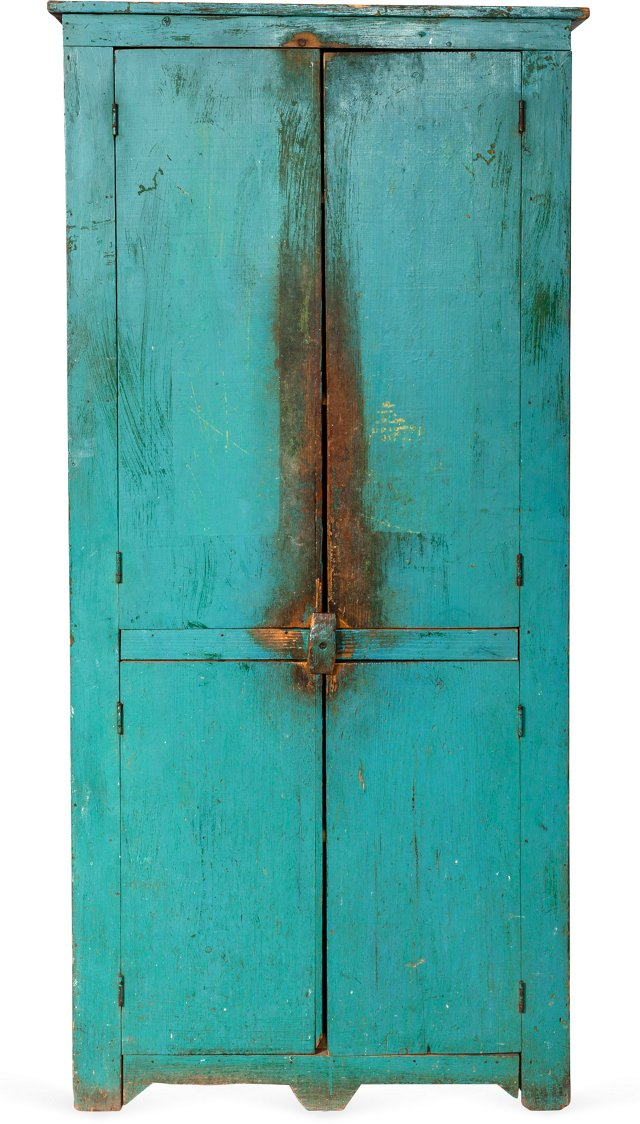 Turquoise Cabinet