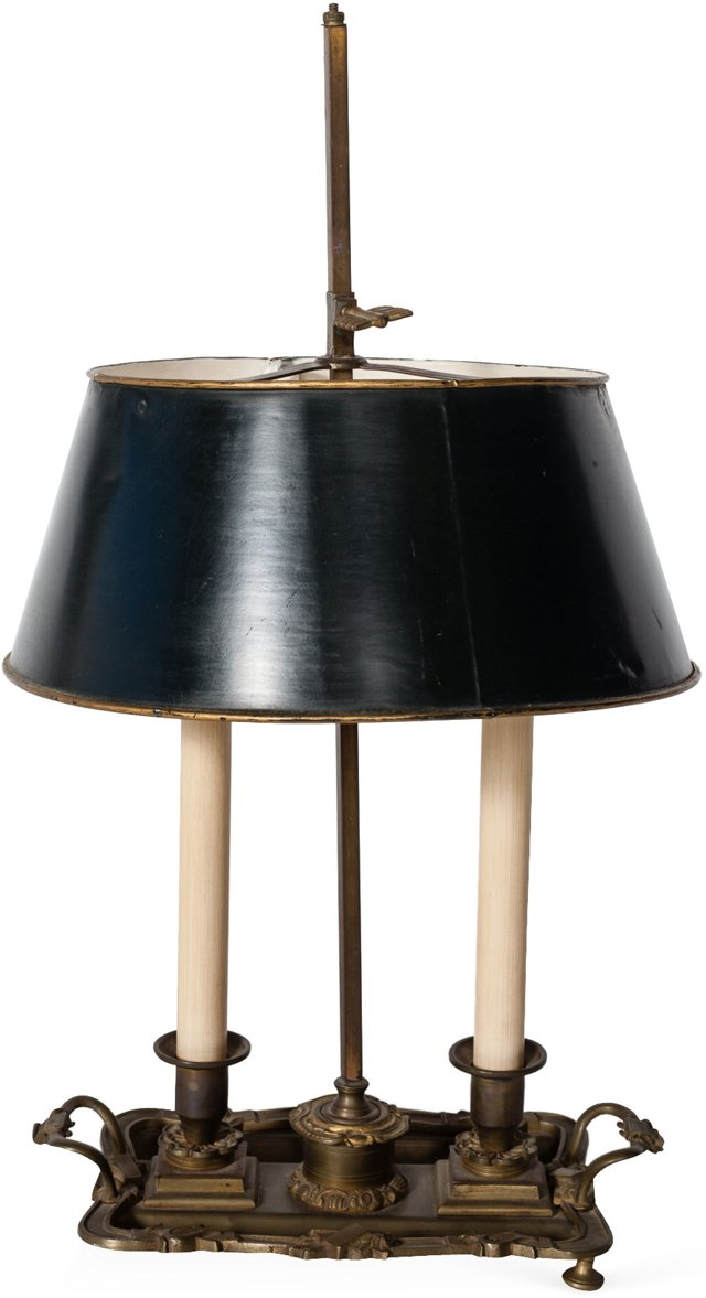 Antique Bouillotte Lamp III