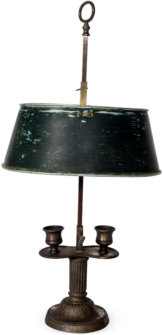 Antique Bouillotte Lamp IV