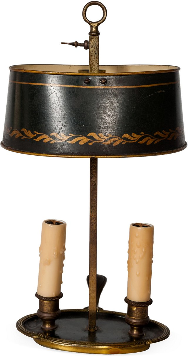 Antique Bouillotte Lamp VI