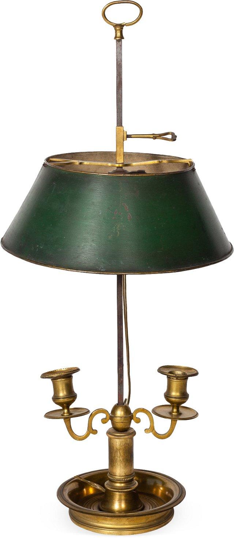 Antique Bouillotte Lamp VII