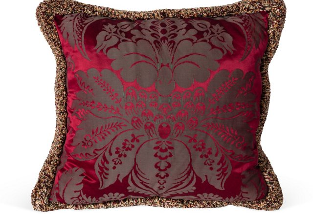 Damask & Velvet Pillow