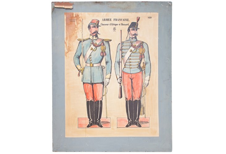 French Soldier Poster II
