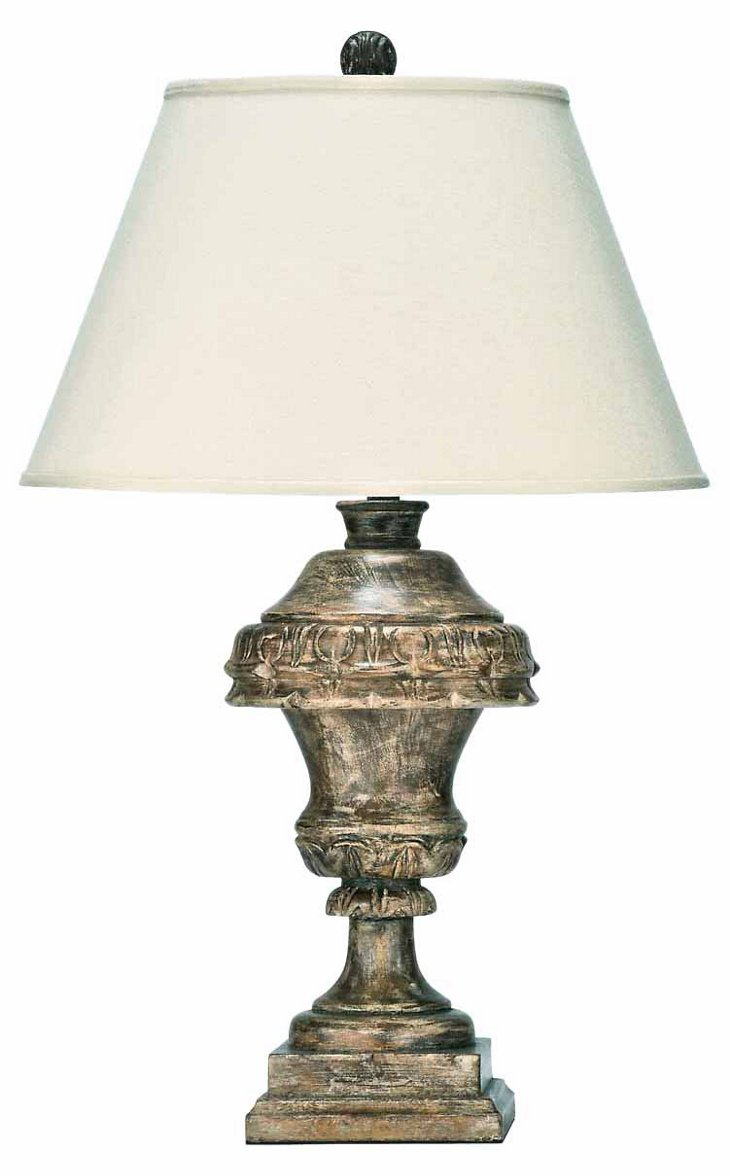 Louise Table Lamp, Brown