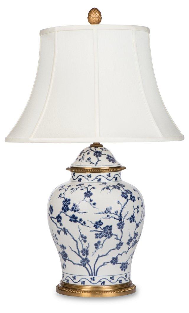 Cherry Blossom Lamp, Motif