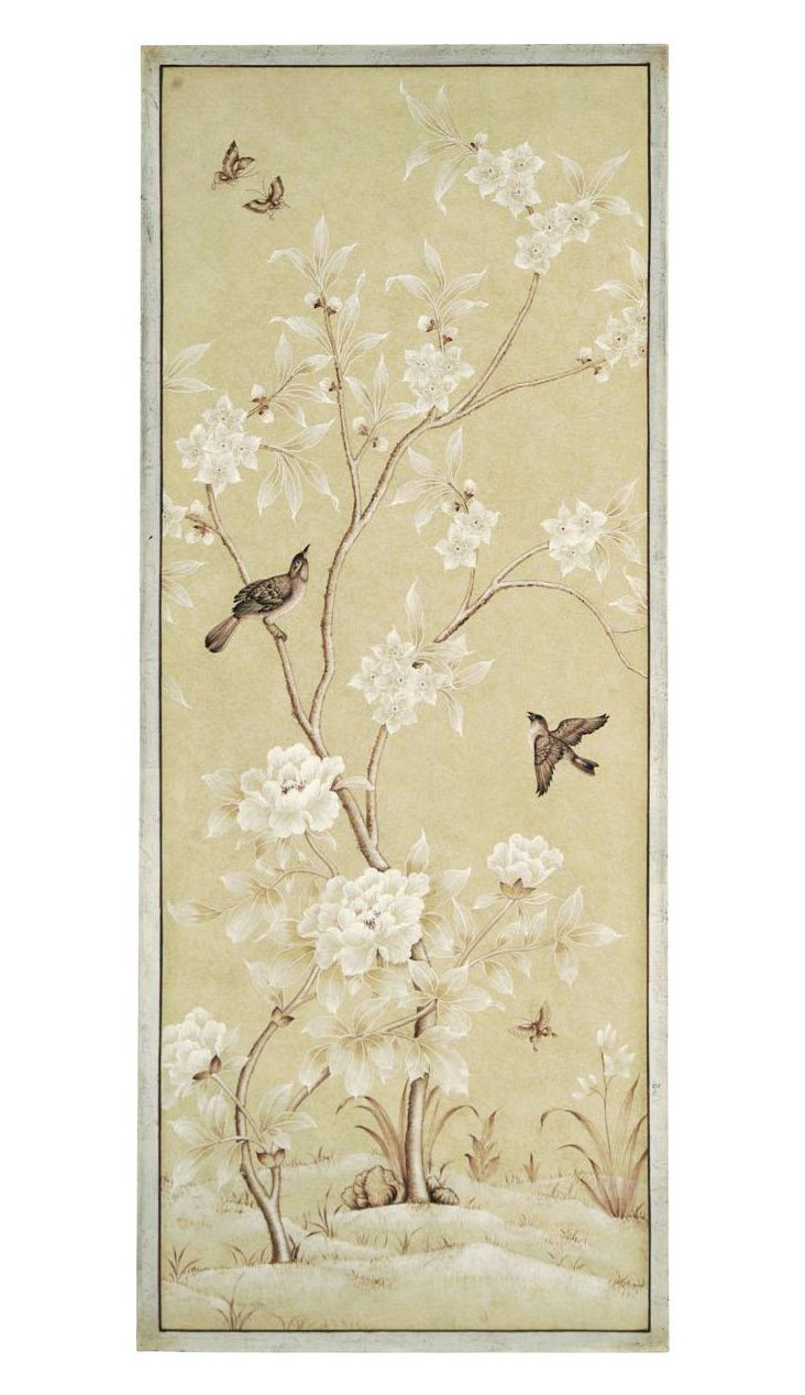 Spring Blossom Bird Panel, Right