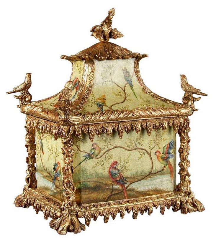 Green Palace Bird Box