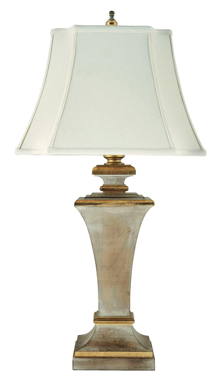 French Flair Buffet Lamp, Gold
