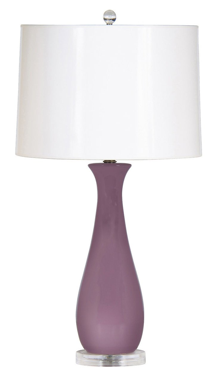 Prelude Table Lamp, Lavender