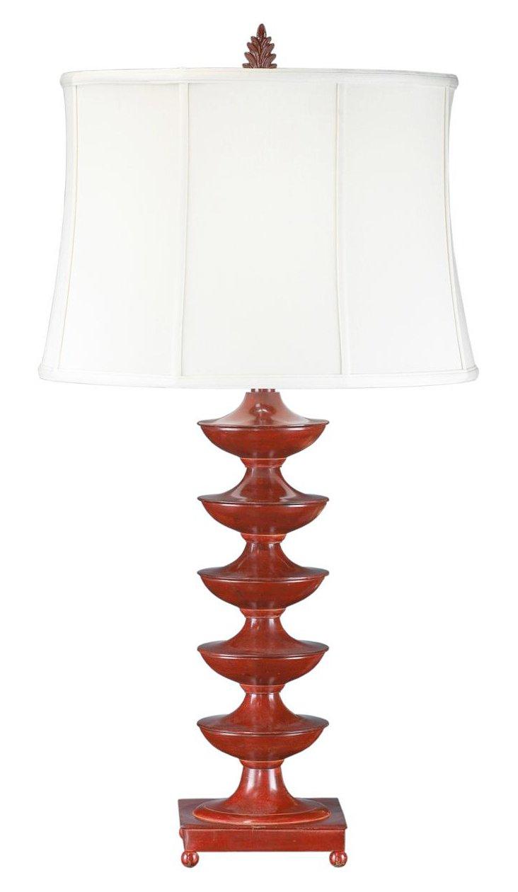 Cinco De Mayo Buffet Lamp, Red