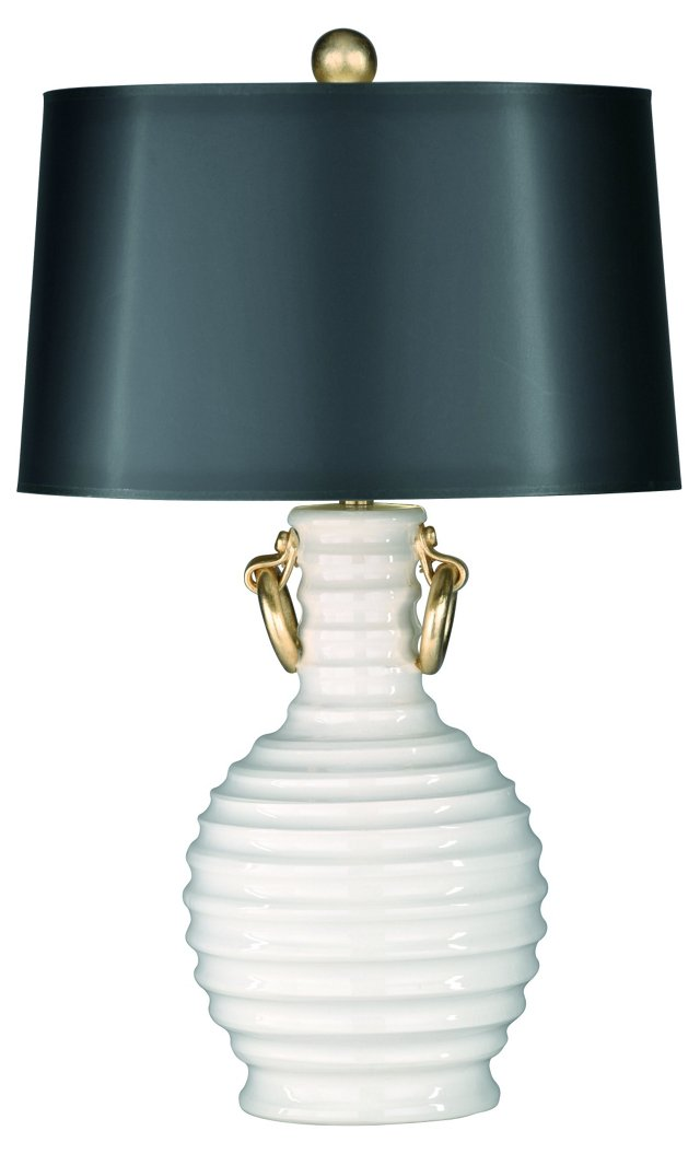Vogue Table Lamp, White