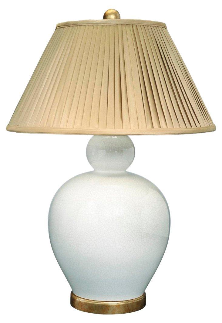 Bella Luna Table Lamp, Cream