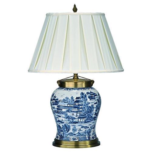 Khushi Table Lamp, Motif