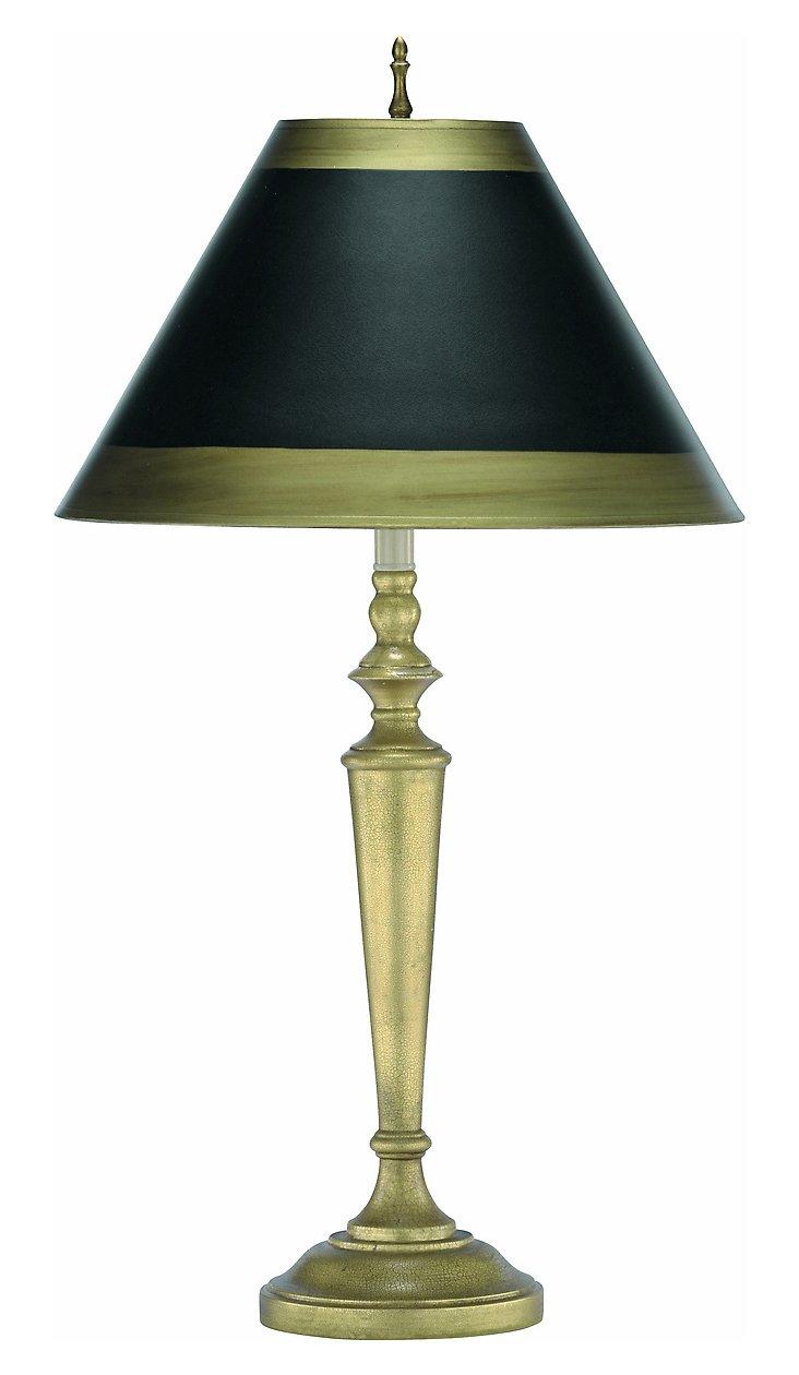 Libretto Table Lamp, Gold