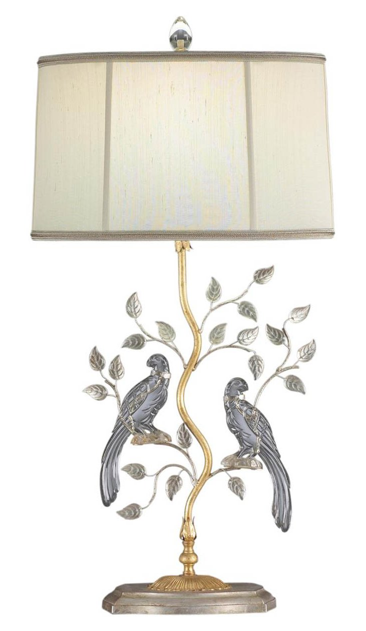 Silver Breeze Table Lamp, Left
