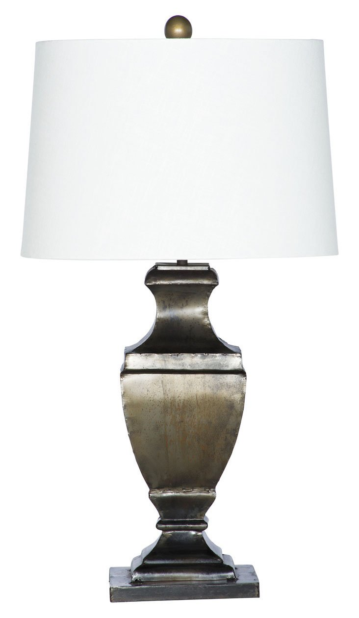 Marcoa Table Lamp, Gunmetal