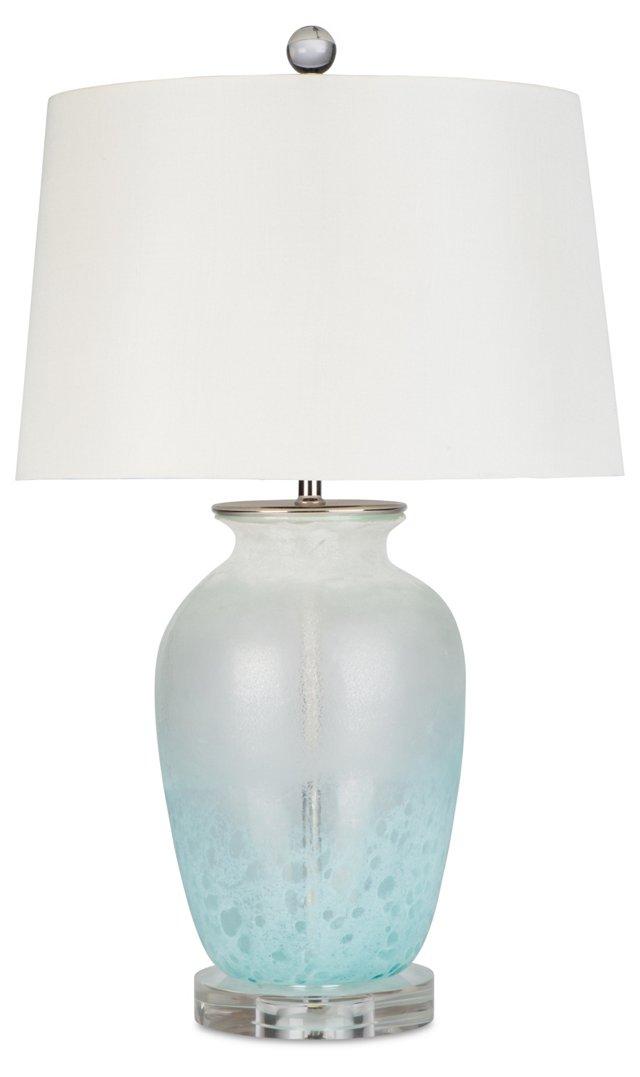 La Jolla Table Lamp, Blue