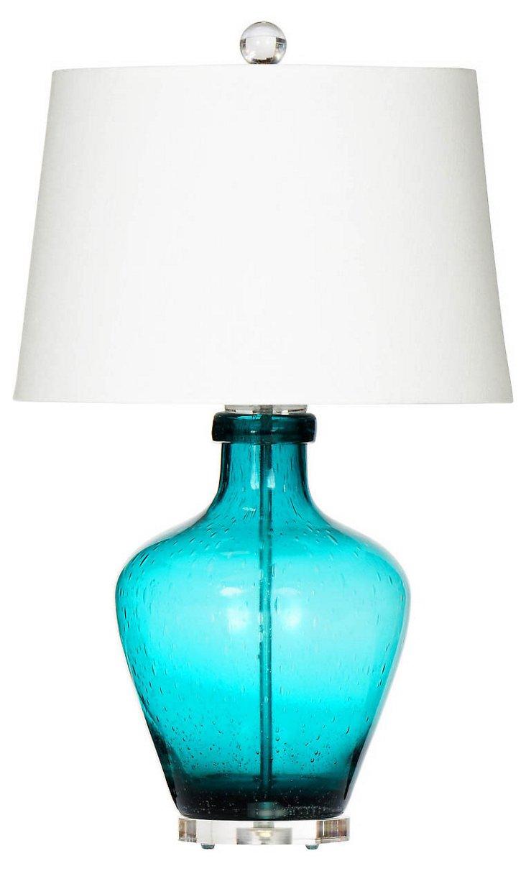 Sea Breeze Table Lamp, Blue