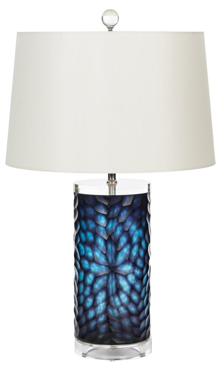 Danube Table Lamp, Cerulean