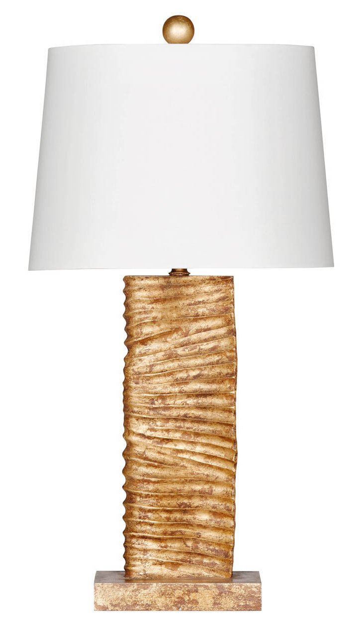 Paso Robles Table Lamp, Gold Leaf