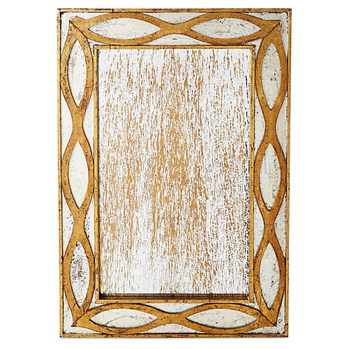 Venice Accent Mirror, Antique Gold