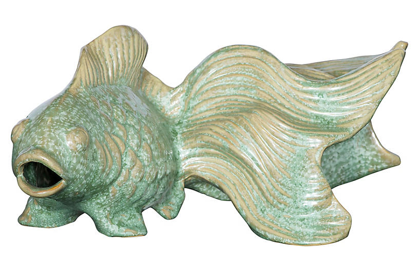 15 koi fish figurine celadon decor under 100 for Koi warehouse sale