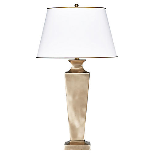 Tanner Table Lamp, Gold