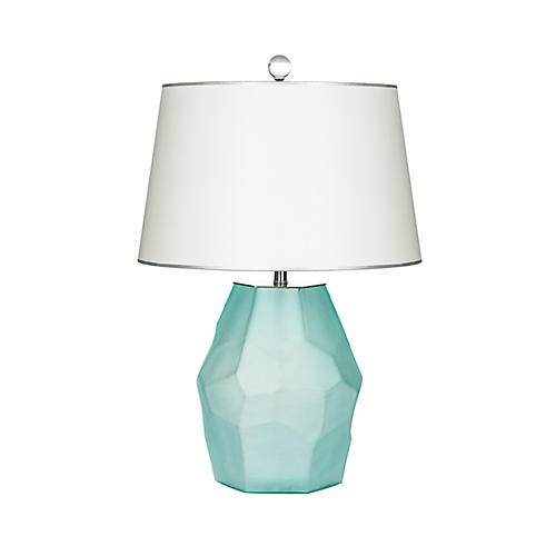 Alameda Table Lamp, Teal