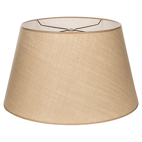 Empire Lampshade, Tan