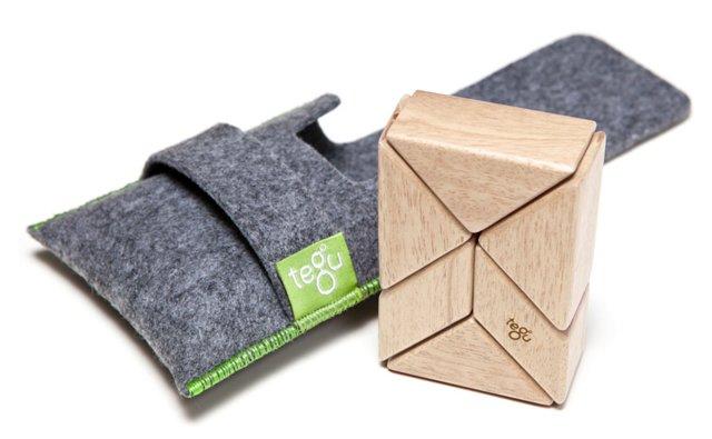 Block Pocket Pouch Prism, Natural