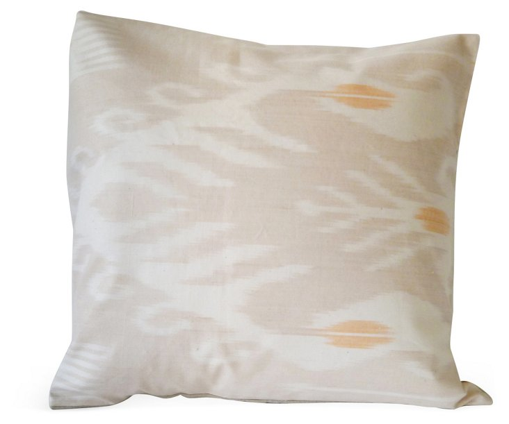 Leaf 16x16 Pillow, Beige