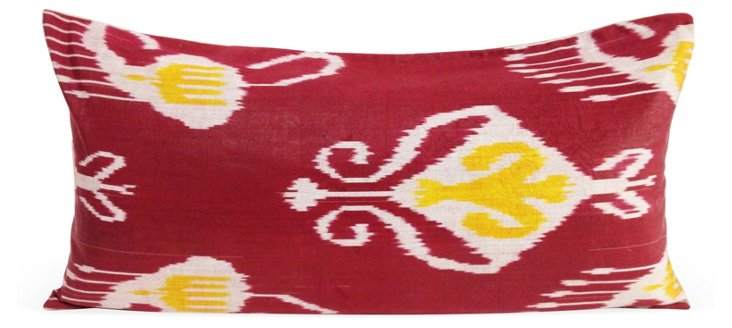 Seed 14x30 Pillow, Red