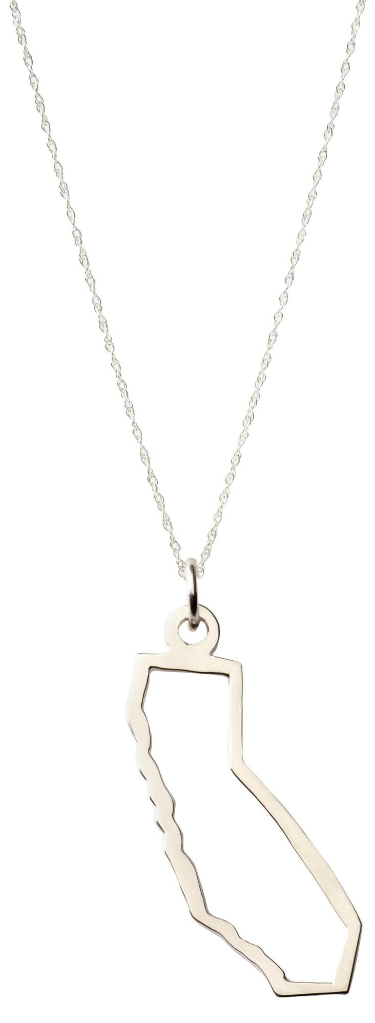 Pick Your State Sterling Silver Necklace